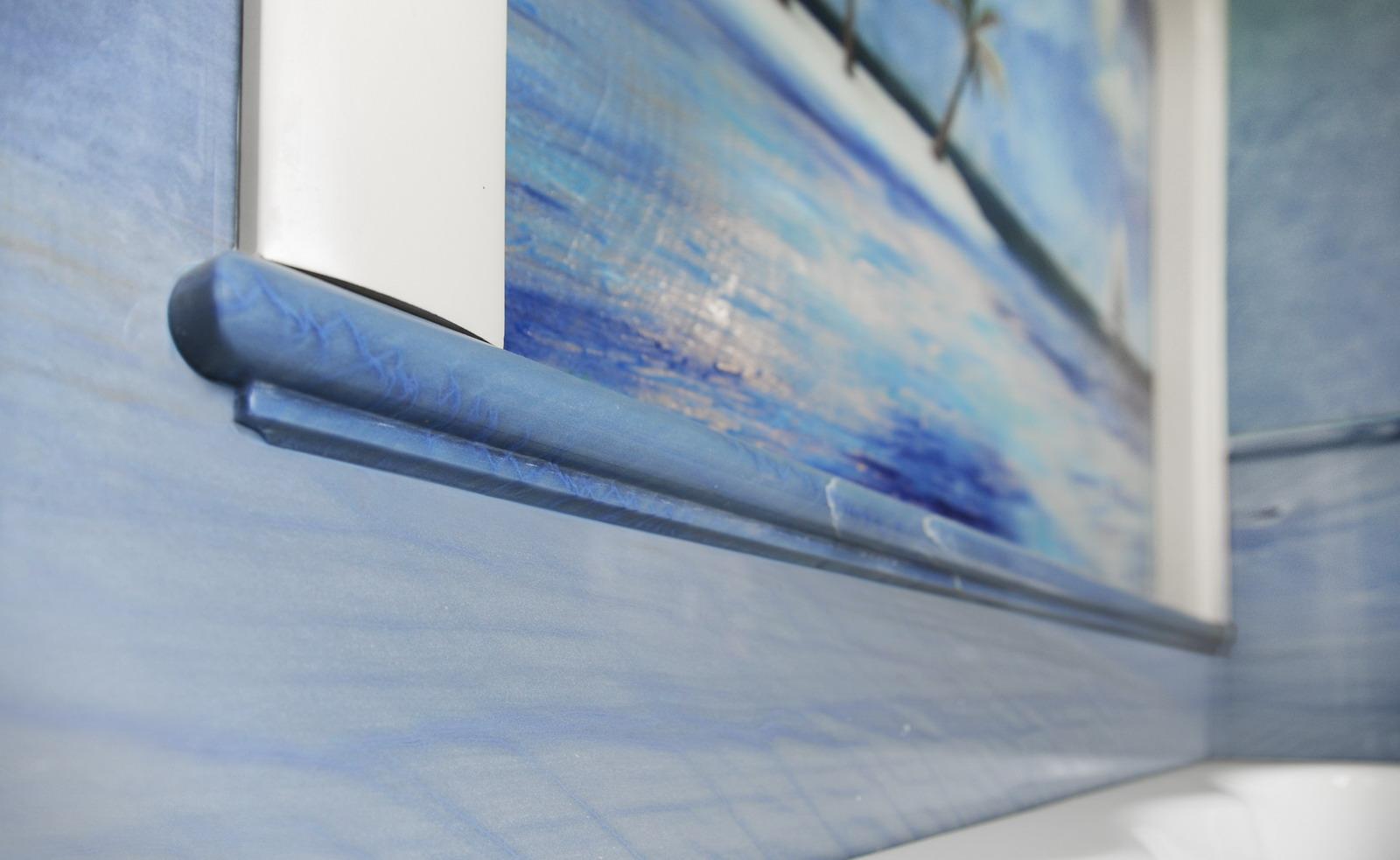 MEDONE MARMI Rivestimento Bagno in Marmo Azul Macaubas - 3